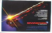 BRAINSTORM original issue rolled 22x28 movie poster