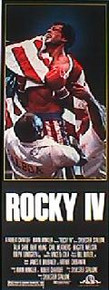 ROCKY IV  original issue 14X36 rolled movie poster