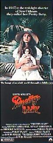 PRETTY BABY original issue 14x36 rolled movie poster