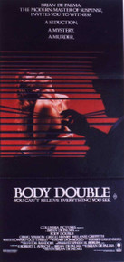 BODY DOUBLE original issue 14x36 movie poster