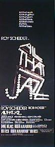 ALL THAT JAZZ  original issue 14X36 movie poster