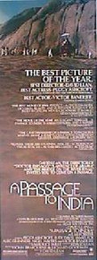 A PASSAGE TO INDIA  original issue 14x36 movie poster