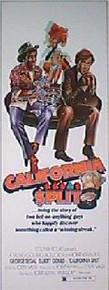 CALIFORNIA SPLIT original issue 14x36 movie poster