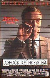 A SHOCK TO THE SYSTEM original issue rolled 1-sheet movie poster
