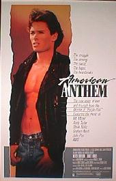 AMERICAN ANTHEM original issue rolled 1-sheet movie poster