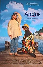 ANDRE original issue rolled double sided 1-sheet movie poster