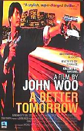 A BETTER TOMORROW original issue rolled International 1-sheet movie poster