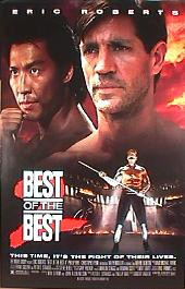 BEST OF THE BEST 2 original issue rolled 1-sheet movie poster