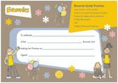 Brownies Promise Certificate