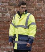 Warrior Denver Hi-Vis Visability Jacket