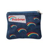 Rainbows Denim Purse