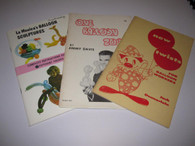 Davis, Jimmy/Jack Dennerlein/Joseph LaMonica - 3 Balloon animal books