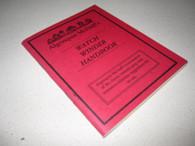McDuff, Algonquin - Watch Winder Handbook (AUTOGRAPHED)