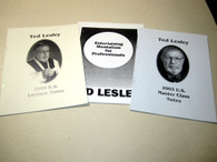 Lesley, Ted - THREE Volumes