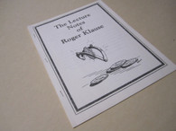 Evans, Jay - The Lecture Notes of Roger Klause