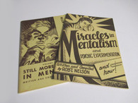 Nelson, Robert - (Double Play) Miracles in Mentalism & Still More Miracles in Mentalism