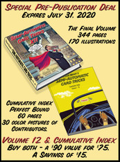 PRE-PUBLICATION OFFER - Volume 12 of Semi-Automatic Card Tricks + Cumulative Index