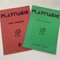 Binarelli, Tony - PLAYMAGIC VOL. 1 & 2 (Both Autographed)