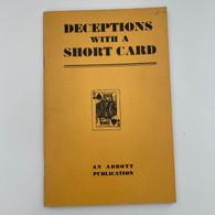 Casaubon, Dr. George - Deceptions with a Short Card (1955)