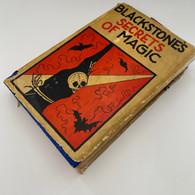 Blackstone, Harry - Blackstone's Secrets of Magic (1929)