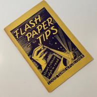 Robson,Stuart & Read,Ralph W. - Flash Paper Tips (1951 LT Edition)