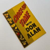 Alan, Don - Close-Up Time with Don Alan (1960)