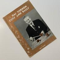 Ganson, Lewis - The Dai Vernon Cups and Balls (British edition)