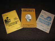 Garcia, Frank - Triple Play (3 books: Sponge Balls, Billiard Balls, Amedeo's Continental Magic)