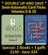 SPECIAL - Volumes 9 & 10 + 3 Gaffs (Limited Time Only)