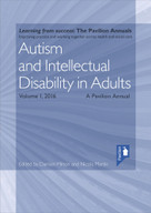 Autism and Intellectual Disability in Adults Volume 1 by Damian Milton, Nicola Martin, 9781911028093