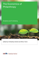The Economics of Philanthropy (Donations and Fundraising) by Kimberley Scharf, Micro Tonin, 9780262038447