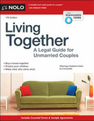 Living Together (A Legal Guide for Unmarried Couples) by Frederick Hertz, Lina Guillen, 9781413327465