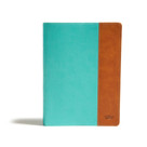 CSB Tony Evans Study Bible, Teal/Earth LeatherTouch (Study Notes and Commentary, Articles, Videos, Easy-to-Read Font) by Tony Evans, CSB Bibles by Holman, 9781087720302