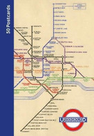 London Underground 50 Postcards by Transport for London, 9780711239944