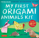 My First Origami Animals Kit (Everything is Included: 60 Folding Sheets, Easy-to-Read Instructions, 180+ Stickers) by Joel Stern, 9780804852869