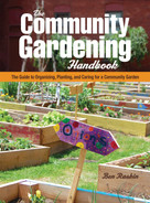 The Community Gardening Handbook (The Guide to Organizing, Planting, and Caring for a Community Garden) by Ben Raskin, 9781620082553