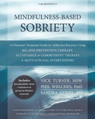 Mindfulness-Based Sobriety (A Clinician's Treatment Guide for Addiction Recovery Using Relapse Prevention Therapy, Acceptance and Commitment Therapy, and Motivational Interviewing) by Nick Turner, Phil Welches, Sandra Conti, 9781608828531