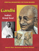 Gandhi (India's Great Soul) by Maura D. Shaw, Stephen Marchesi, 9781893361911