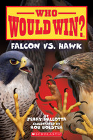 Falcon vs. Hawk (Who Would Win?) by Jerry Pallotta, Rob Bolster, 9781338320268
