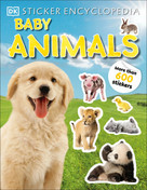 Sticker Encyclopedia Baby Animals (More Than 600 Stickers) by DK, 9780744026610