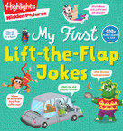 Hidden Pictures My First Lift-the-Flap Jokes by Highlights, 9781644723319
