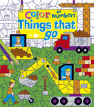 Color by Numbers: Things That Go by , 9781784289294