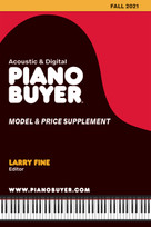 Piano Buyer Model & Price Supplement / Fall 2021 by Larry Fine, 9781929145751