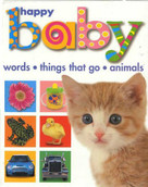 Happy Baby Slipcase (large) (Animals, Words, Things That Go) by Roger Priddy, 9780312494223