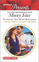 The Greek's Nine-Month Redemption by Maisey Yates, 9780373139170