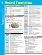 Medical Terminology SparkCharts by SparkNotes, 9781411470538