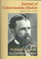 The Victorian's Guide to Consciousness (Essays Marking the Centenary of William James) by Allan Combs, 9781845402570