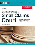 Everybody's Guide to Small Claims Court by Cara O'Neill, 9781413324907