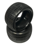 "Waffle - Rear Buggy Tires w/Inserts 2.2"" (1 pr)"