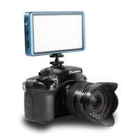 FloBeam 12W RGB Pocket Light on Mirrorless Camera